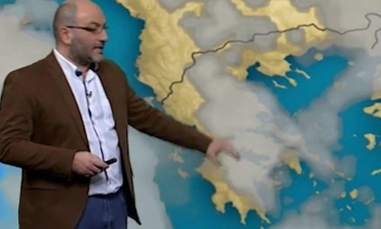Μπόρες και καταιγίδες και την Κυριακή! Η νέα προειδοποίηση του Σάκη Αρναούτογλου (χάρτες)