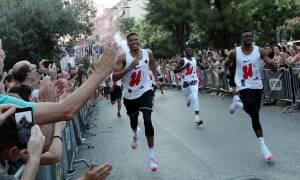 Οι Antetokounbros έτρεξαν στην Αθήνα για καλό σκοπό (photos)