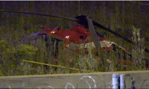 Παρ' ολίγον τραγωδία: Ελικόπτερο αεροδιακομιδής ασθενών συνετρίβη σε πολυσύχναστο αυτοκινητόδρομο