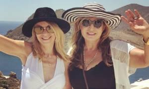 Έλλη Στάη: Κάνει διακοπές με σκάφος γυρίζοντας τα νησιά με φίλους της