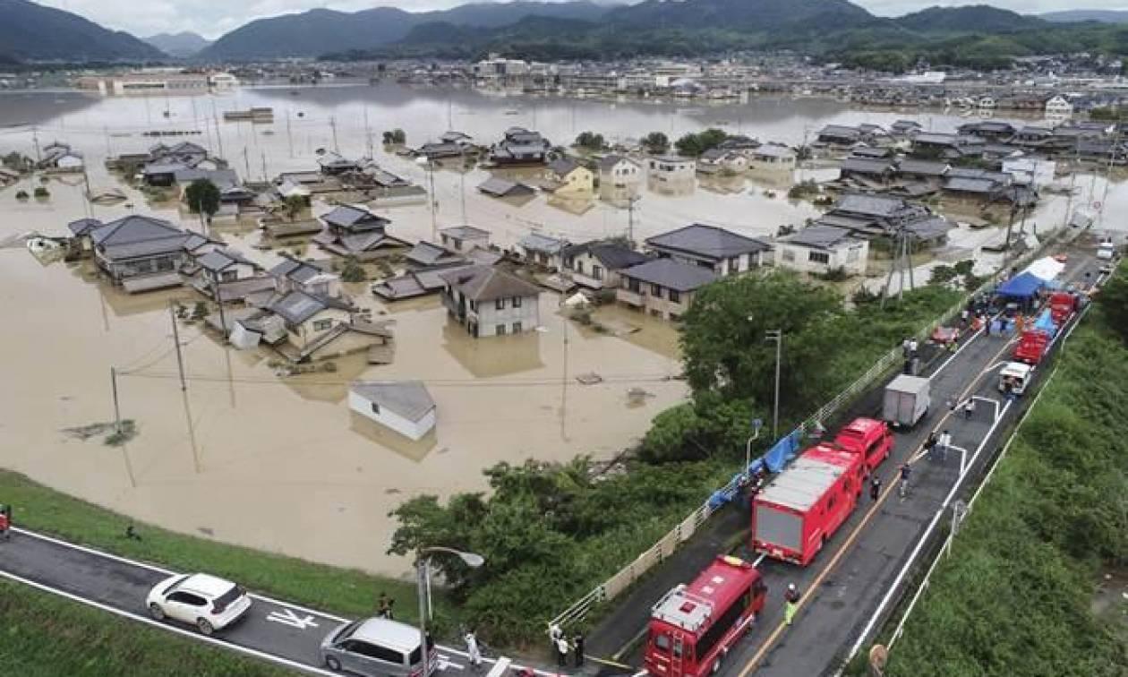Ιαπωνία: Ανεβαίνει δραματικά ο αριθμός των νεκρών από τις σφοδρές βροχοπτώσεις