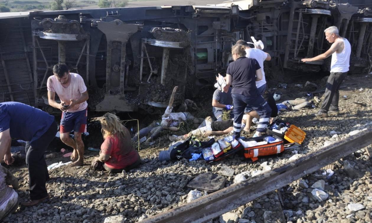 Τουρκία: Τους 24 έφτασαν οι νεκροί από τον εκτροχιασμό τρένου (pics&vid))