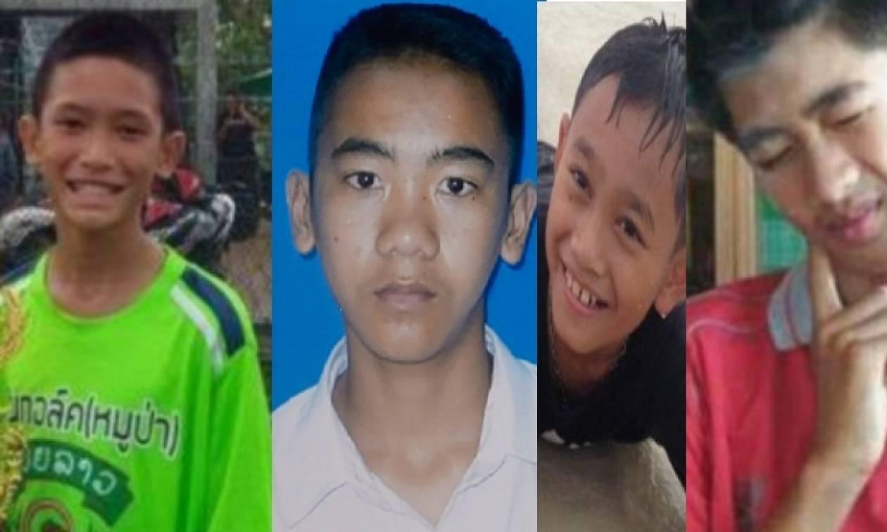 Ταϊλάνδη: Τα τέσσερα πρώτα αγόρια που σώθηκαν από το σπήλαιο  - Αυτές είναι οι ιστορίες τους (pics)