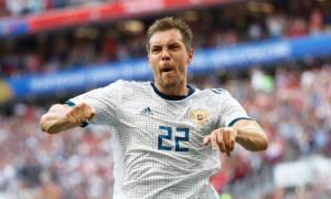 Два футболиста сборной России вошли в сборную открытий ЧМ