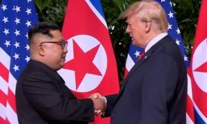 Τραμπ: Ο Κιμ θα σεβαστεί τη χειραψία μας