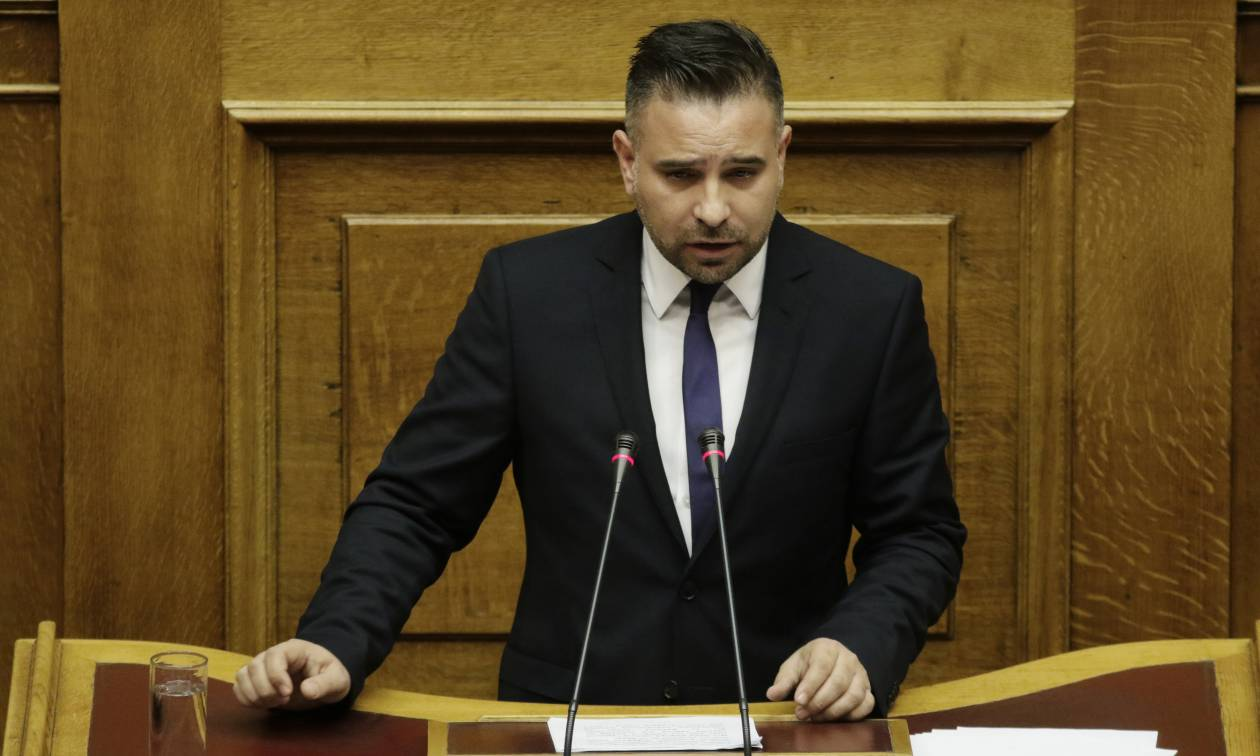 Στη ΝΔ εντάσσεται ο ανεξάρτητος βουλευτής Γιώργος Κατσιαντώνης