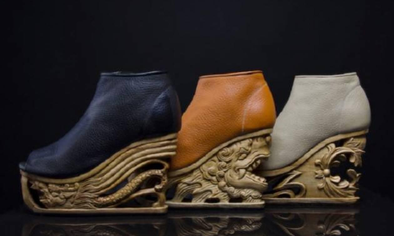 Τα παπούτσια με τα πιο περίτεχνα τακούνια που έχετε δει