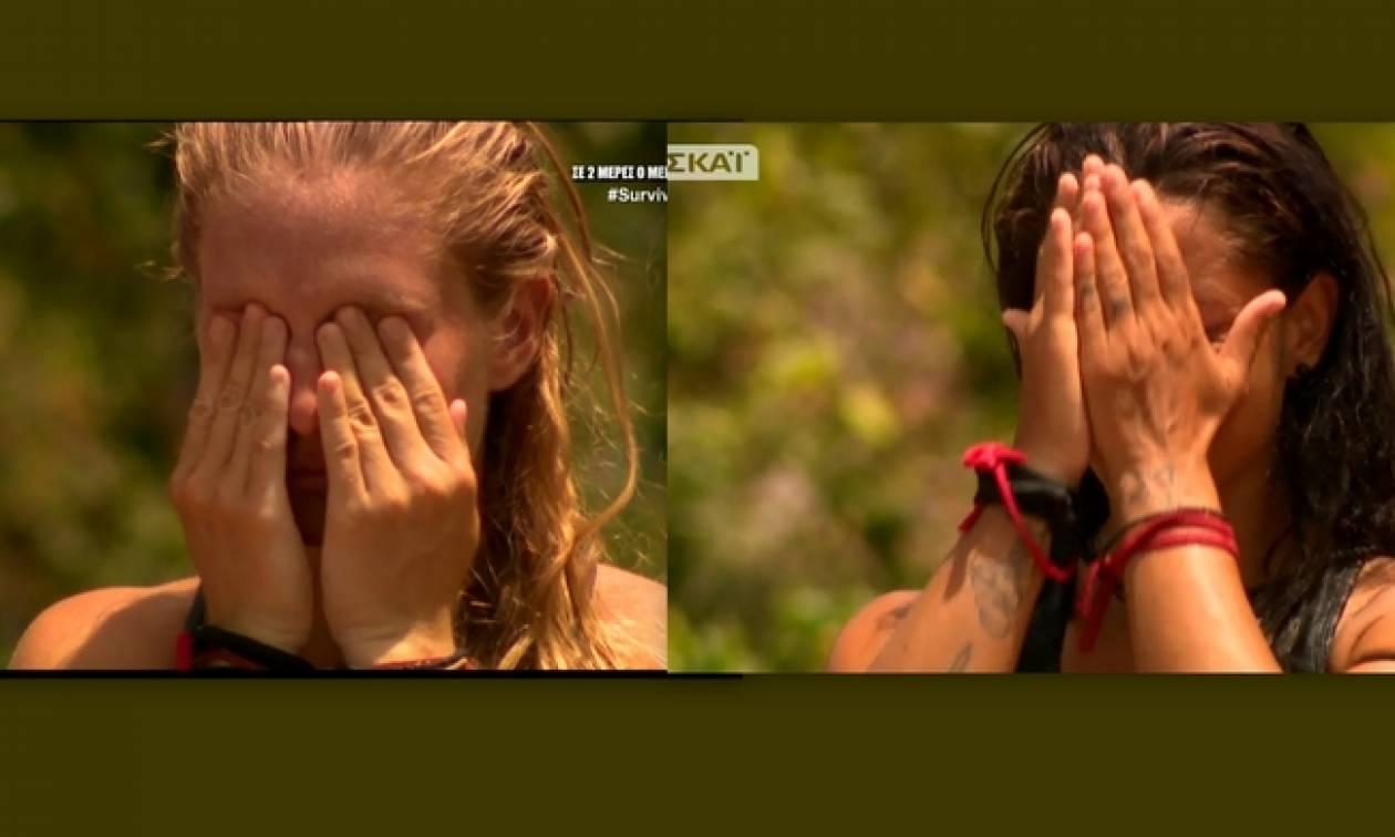 Survivor 2: Η Δαλάκα και η Μελίνα λύγισαν κάνοντας τον απολογισμό τους