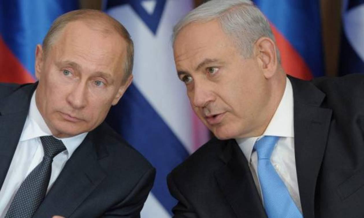 Νετανιάχου σε Ρωσία: Δεν θα ενοχλήσουμε τον Άσαντ