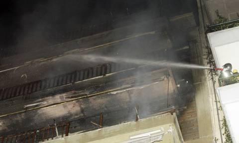 Θεσσαλονίκη: Συναγερμός για φωτιά σε πολυκατοικία