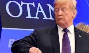 «Κεραυνοί» Τραμπ: Σαφές μήνυμα προς τους ηγέτες του ΝΑΤΟ για τις αμυντικές δαπάνες