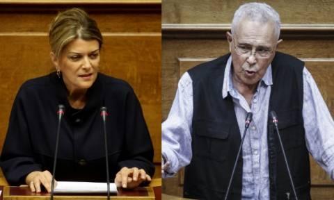 «Πόλεμος» κυβέρνησης - ΝΔ για Αντωνοπούλου και Ζουράρι