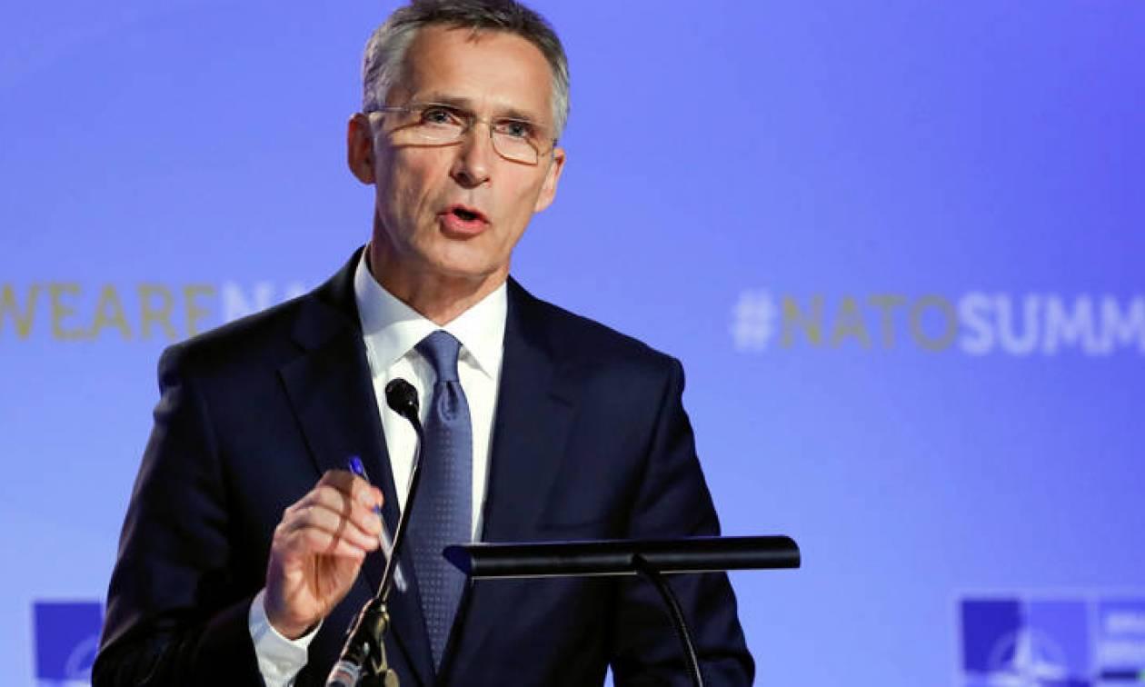 Στόλτενμπεργκ: Απαράδεκτη κάθε ανάμειξη από άλλες χώρες στο θέμα της Συμφωνίας των Πρεσπών