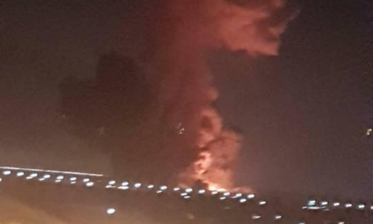 Συναγερμός στην Αίγυπτο: Ισχυρή έκρηξη στο αεροδρόμιο του Καΐρου (Pics+Vids)