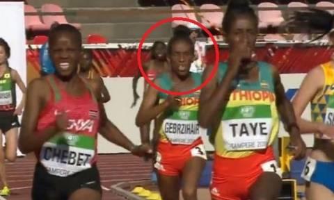 Η 16χρονη αθλήτρια από την Αιθιοπία που μοιάζει με... 80χρονη! (photo)