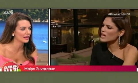 Νικολέτα Ράλλη: Η αποκάλυψη on air για το προφίλ της Συνατσάκη στο Instagram, το οποίο εξαφανίστηκε