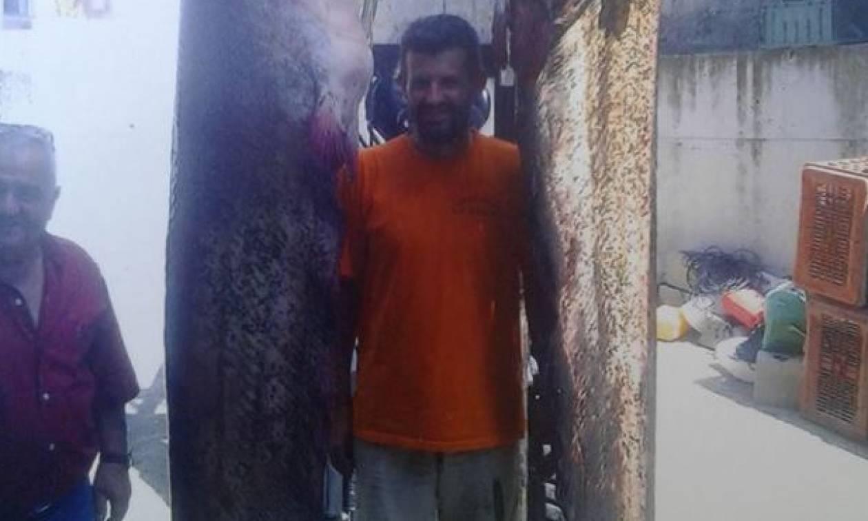 Κοζάνη: Ψαράδες βάρεσαν τα… νταούλια τους και έβγαλαν δύο ΘΗΡΙΑ που δεν έχετε ξαναδεί! (pic)