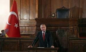Τουρκία: Το πρώτο Υπουργικό Συμβούλιο του Ερντογάν ως… απόλυτος Σουλτάνος! (pics)
