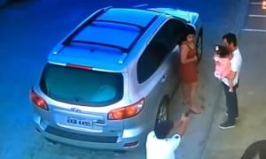 Σοκ στη Βραζιλία: Δολοφόνος εκτέλεσε δικηγόρο μπροστά στην κορούλα του (vid)