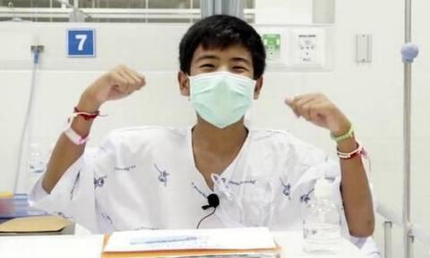 Το πρώτο μήνυμα των παιδιών της Ταϊλάνδης:«Είμαστε ασφαλείς τώρα, σας ευχαριστούμε όλους» (vid)