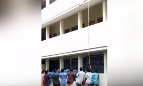 Φρικτός θάνατος φοιτήτριας κατά τη διάρκεια άσκησης ασφαλείας