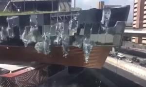 Βίντεο σοκ: Εμπορικό κέντρο κατέρρευσε στο Μεξικό (vid)
