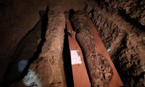 Αίγυπτος: Σπάνια ανακάλυψη - Οι σφραγισμένες σαρκοφάγοι και τα μυστικά του εργαστηρίου μουμιοποίησης