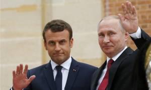 Μουντιάλ 2018: Συνάντηση Πούτιν - Μακρόν στη Μόσχα πριν από τη σέντρα του μεγάλου τελικού