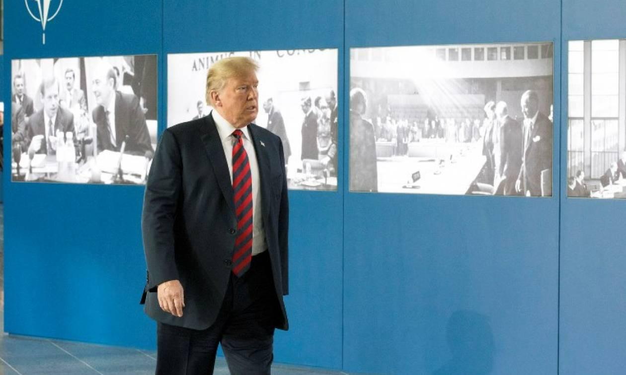 Τραμπ: Δυνατό και πλούσιο τώρα το ΝΑΤΟ