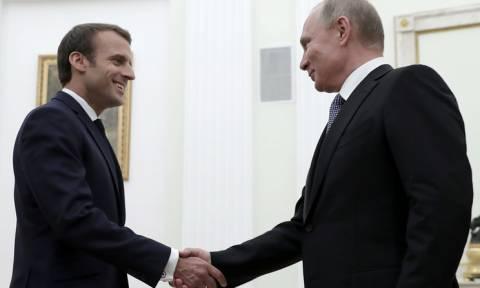 Путин рассчитывает, что Россия и Франция преодолеют сложности в отношениях