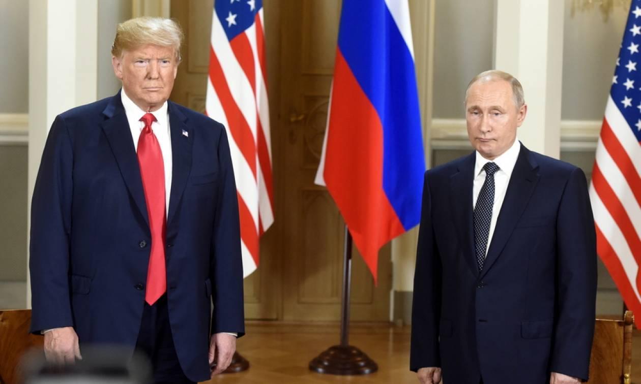 Πούτιν σε Τραμπ: Είναι καιρός να συζητήσουμε για τις σχέσεις μας