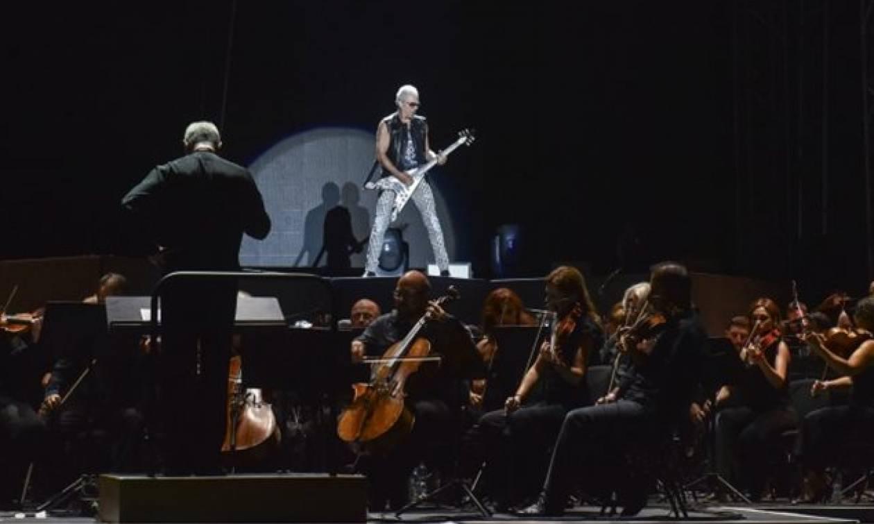 «Καλησπέρα Αθήνα»: Οι Scorpions ξεσήκωσαν το Καλλιμάρμαρο (pics)