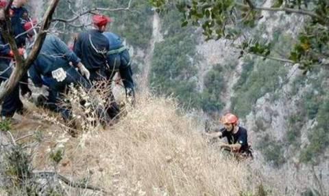 Λασίθι: Μεγάλη επιχείρηση διάσωσης γυναίκας στο φαράγγι του Ρίχτη