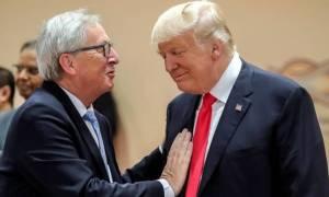Εμπορικός πόλεμος HΠΑ - ΕΕ: Στέλνουν τον Γιούνκερ να διαπραγματευτεί με τον Τραμπ