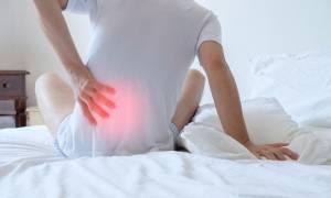 Πόνος στη μέση: Οι 2 καλύτερες στάσεις στον ύπνο (pics)