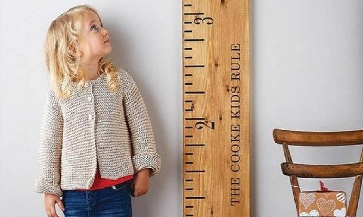 Δείτε πώς μπορείτε να βοηθήσετε τα παιδιά σας να γίνουν ψηλότερα!