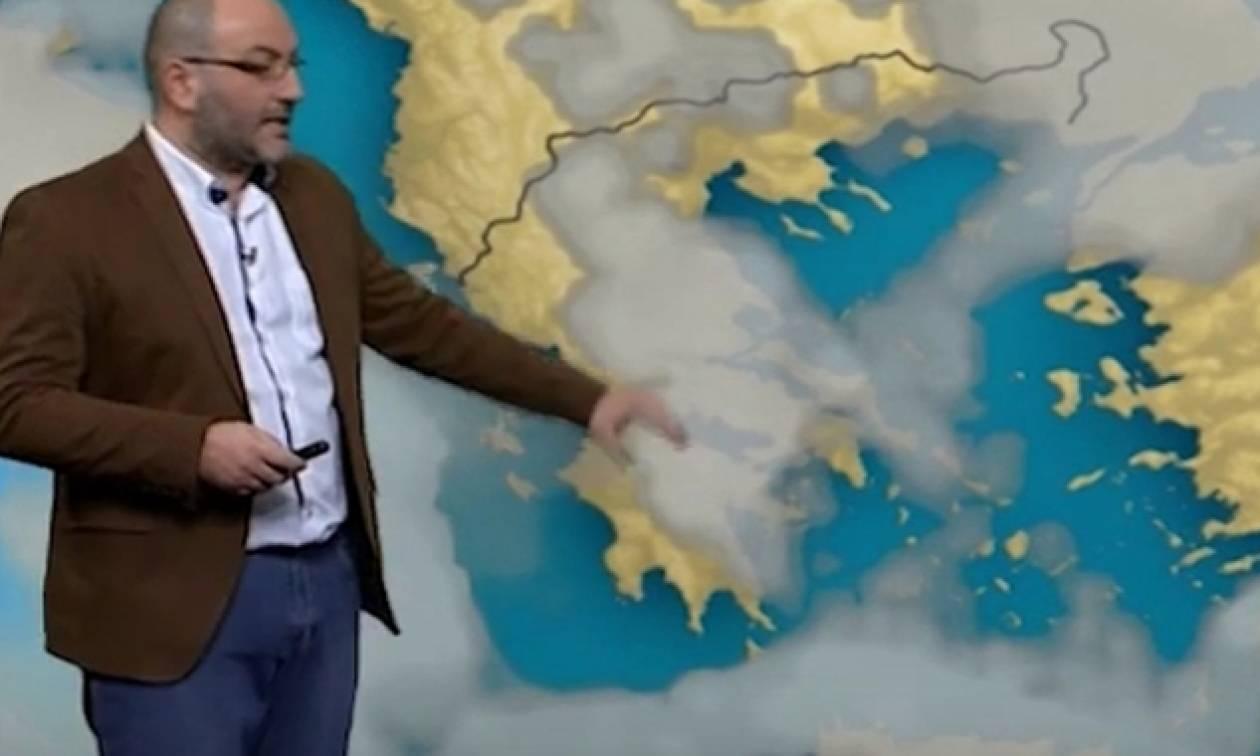 Καιρός: Νέα έκτακτη ενημέρωση από τον Σάκη Αρναούτογλου για την άνοδο της θερμοκρασίας (Photos)
