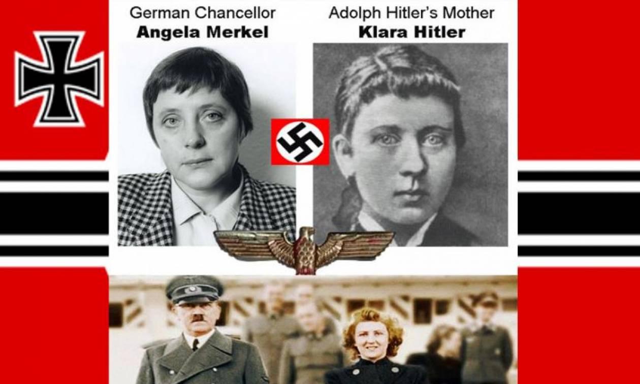 Είναι η Merkel κόρη του Hitler; Θεωρίες συνωμοσίας για τους ηγέτες του κόσμου