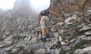 Ανάβαση στον Όλυμπο: Ένα βίντεο γεμάτο αδρεναλίνη που κόβει την ανάσα