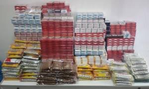 Θεσσαλονίκη: Τρεις συλλήψεις για λαθραία καπνικά προϊόντα στο κέντρο της πόλης