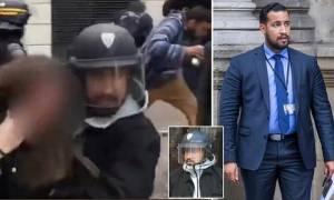 Σκάνδαλο Μπεναλά: Στον ανακριτή οδηγείται ο νταής «κολλητός» του Μακρόν που χτύπησε Έλληνα διαδηλωτή