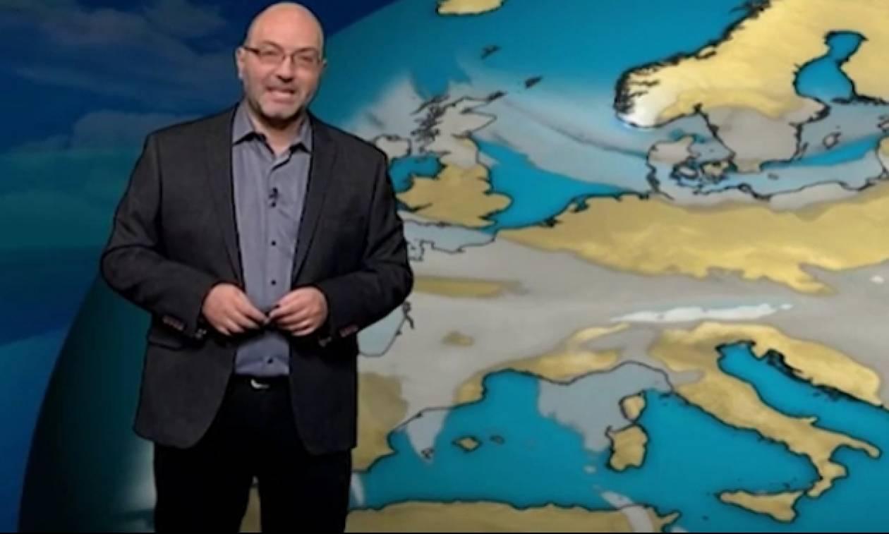 Η έκτακτη ενημέρωση του Σάκη Αρναούτογλου για την αλλαγή του καιρού και την αστάθεια (photos)