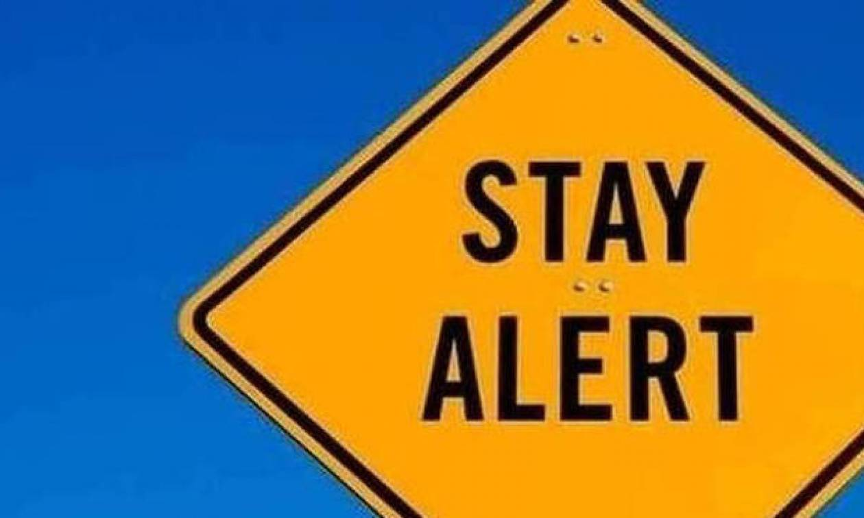 Η Γενική Γραμματεία Πολιτικής Προστασίας προειδοποιεί: Προσοχή τις επόμενες ώρες