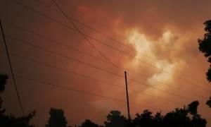 Φωτιά τώρα στην Κινέτα:«Πρόκειται για μία από τις πιο δύσκολες πυρκαγιές»