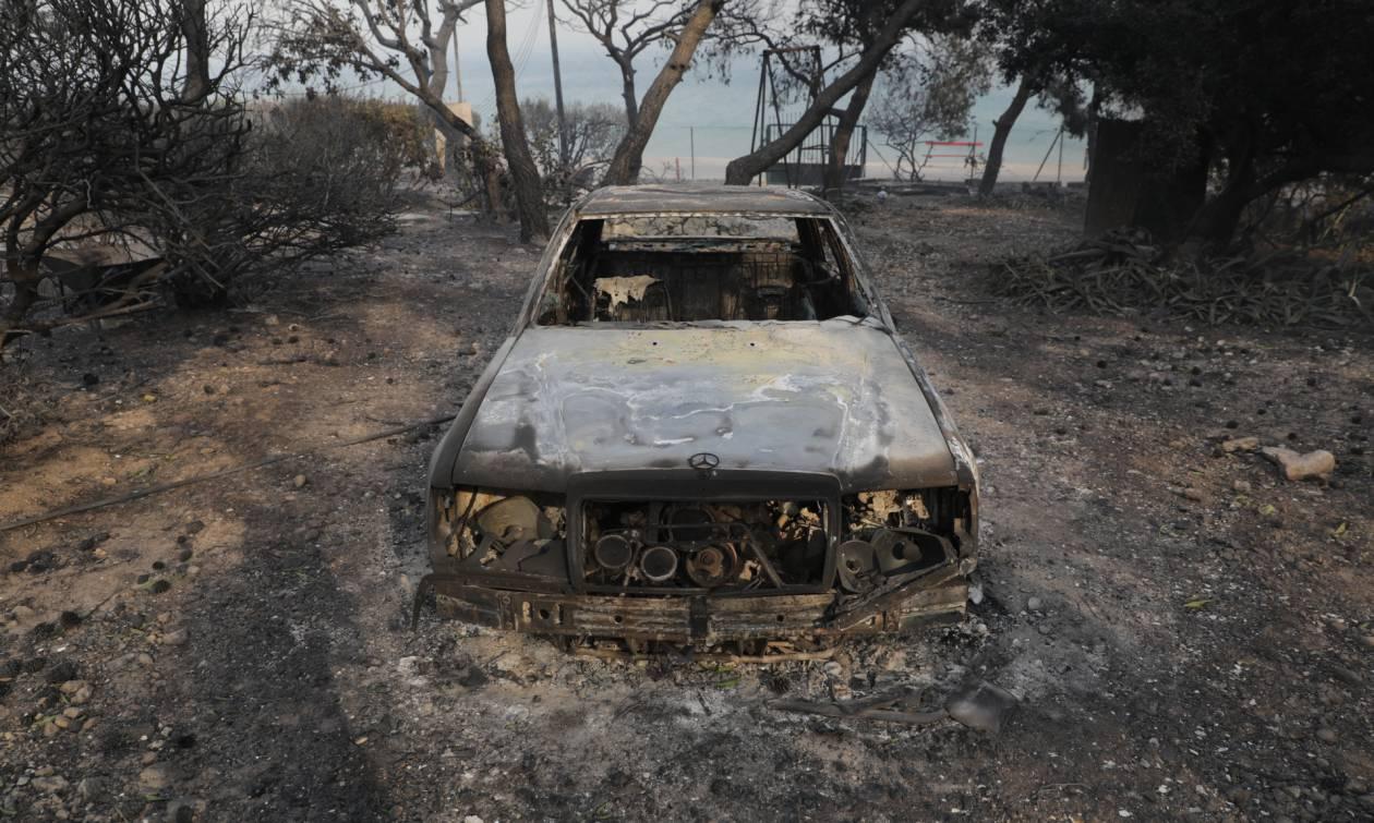 Φωτιά Κινέτα: Εικόνες - ΣΟΚ από την καταστροφική πυρκαγιά - Δείτε τι άφησε πίσω της η φωτιά