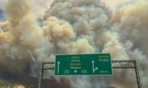 Φωτιά Κινέτα: Πώς θα εξελιχθεί η πυρκαγιά σύμφωνα με το Αστεροσκοπείο Αθηνών