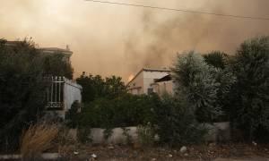 Φωτιά τώρα: Στο έλεος του πύρινου ολέθρου Μάτι και Βουτζάς