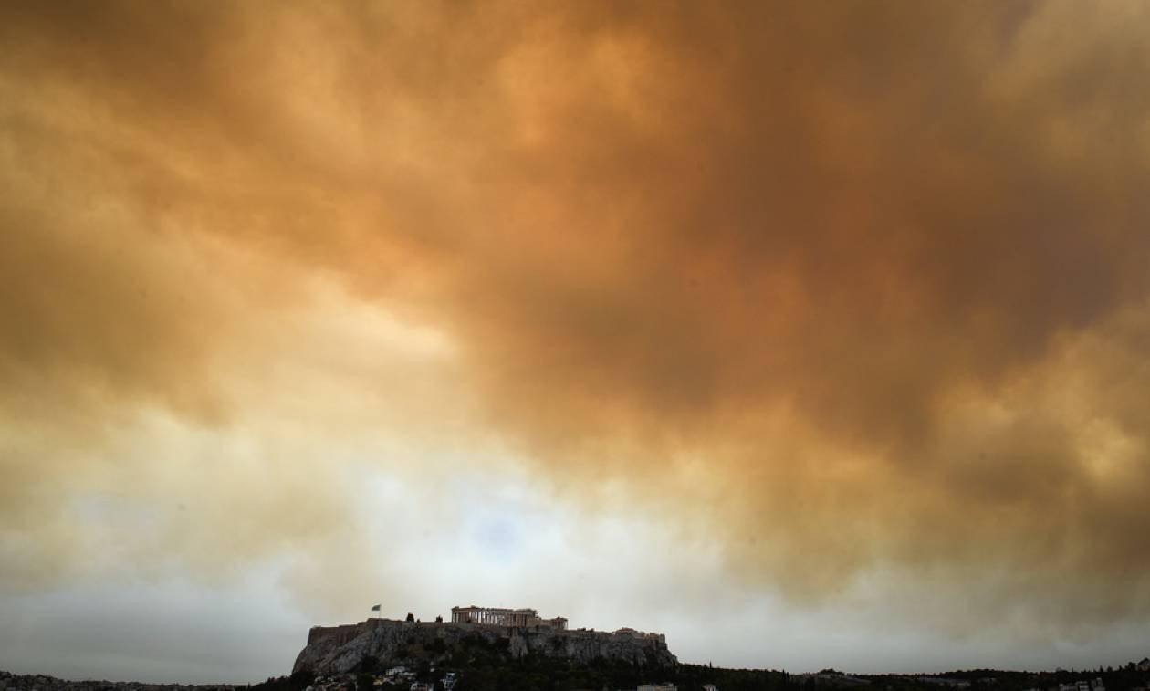 Έκτακτο δελτίο ΕΜΥ: «Σύμμαχος» οι βροχές και οι καταιγίδες για την κατάσβεση των πυρκαγιών (pics)