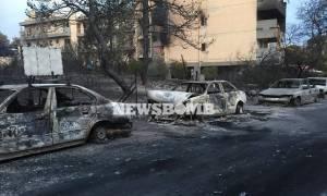 Φωτιά Ραφήνα: Σπίτι έγινε στάχτη αλλά η εικόνα της Παναγίας έμεινε ανέγγιχτη (photo)