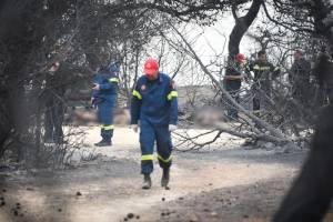 Φωτιά ΤΩΡΑ - Δήμαρχος Ραφήνας: «Πιστεύω ότι οι νεκροί από τις πυρκαγιές θα ξεπεράσουν τους 100»